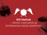 Yhteenveto 925 Festivalin puheista 12.-13.11.2013