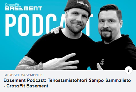 Basement Podcast Sammalisto